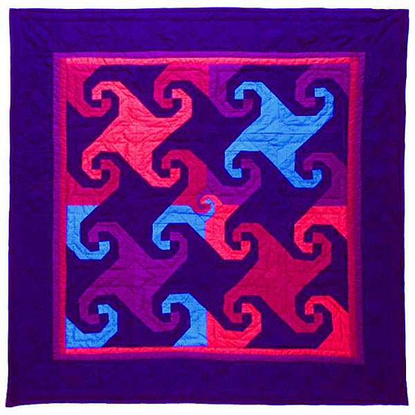 Quilt by Joy-Lily titled: Coriolis Factor.