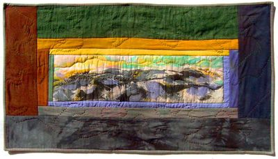 Quilt by Joy-Lily titled: Top of the World. Click to enlarge.